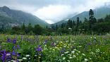 """<b>Фото</b><b>на</b><b><a id=""""bxid_230462"""" href=""""http://svastour.ru/fisht.htm"""">маршруте 30</a></b>В домашнем диванно-кресельном покое накапливается усталость от суеты, от искусственного изображения лесов, гор и рек, нет той остроты и реального ощущения живой природы, когда всем своим существом чувствуешь её благодатную энергию, аромат хвойного леса, нежность и теплоту ласкового солнца, тенистую прохладу горной реки, когда горы живут вместе с тобой, когда они видимы и реальны."""