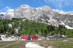 Это фото с тура Легендарная Тридцатка, знаменитый маршрут 30, через горы к морю с легким рюкзаком